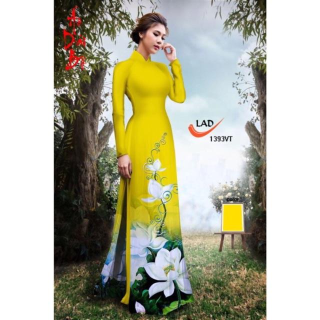 Vải áo dài in hoa sen - 2985532 , 400122165 , 322_400122165 , 220000 , Vai-ao-dai-in-hoa-sen-322_400122165 , shopee.vn , Vải áo dài in hoa sen