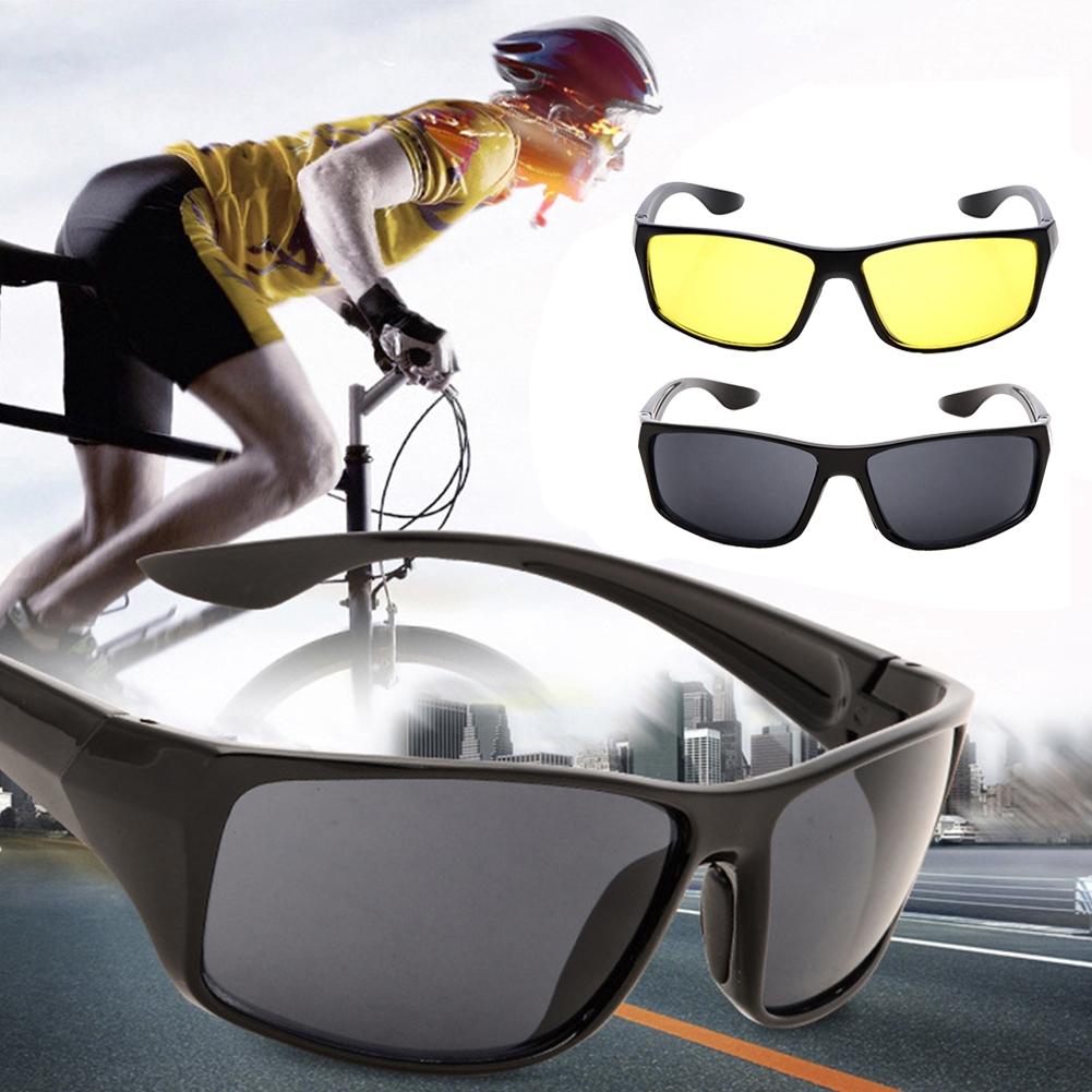 Cool Fashion Outdoor Night Vision Mirror Sunglasses UV Anti-glare Goggles Driving Eyewear