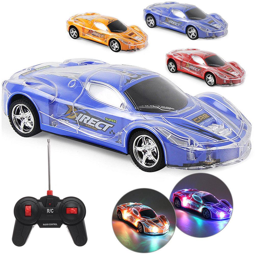 RC Car 1/24 High Speed Remote Control Racing With 3D Lights For Kids Gifts Toys