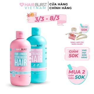Hình ảnh Set gội xả HAIRBURST kích thích tóc mọc dài hơn chắc khỏe hơn 350ml/chai-0