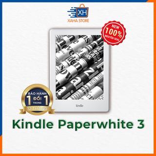 Máy đọc sách Kindle Paperwhite 3 - 7th Generation ⚡️ New 100%, nguyên seal hộp ⚡️ Mua kèm túi chống sốc giá 0đ