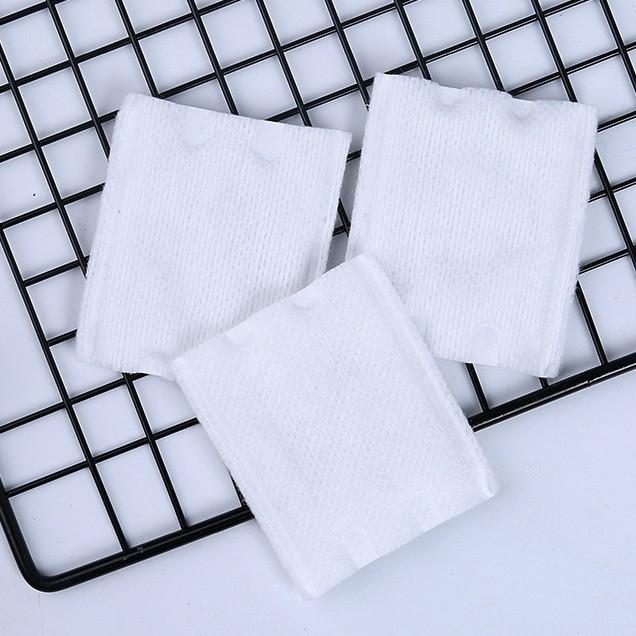 Set 100 bông tẩy trang cotton mềm mại chất lượng cao