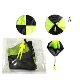Hand Throwing Mini Soldier Play Parachute Kids Educational Outdoor Games Toys