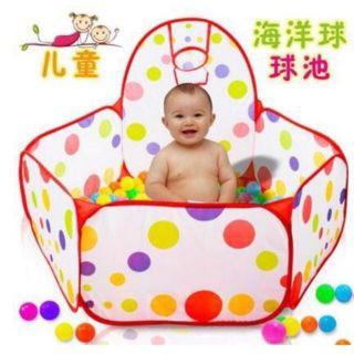 Nhà bóng lều bóng mini kèm 100 bóng cho bé