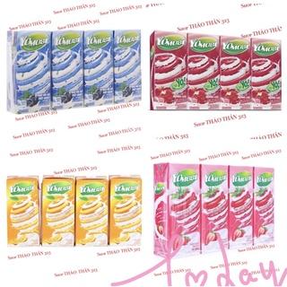 ❤Combo 4Lốc Sữa Chua Lên Men Tự Nhiên YoMost Nhiều Hương Vị 170ml