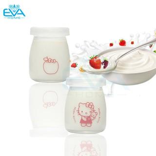 Yêu ThíchHộp 12 Hủ Thủy Tinh Làm Sữa Chua 100ml In Hình Ngộ Nghĩnh