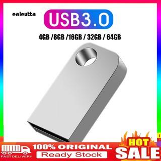 USB 3.0 4/8/16/32/64GB mini có vỏ bằng kim loại cho pc laptop
