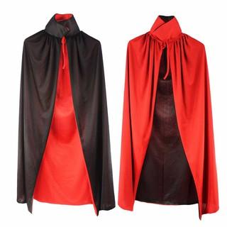 Áo choàng 2 mặt cổ cao Dracula