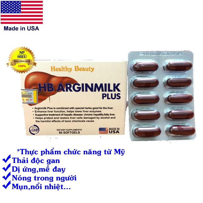 Thải độc gan HB ARGINMILK PLUS USA - 3137916 , 1199167736 , 322_1199167736 , 600000 , Thai-doc-gan-HB-ARGINMILK-PLUS-USA-322_1199167736 , shopee.vn , Thải độc gan HB ARGINMILK PLUS USA