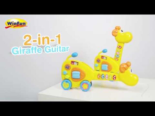 Đàn nhạc hình hươu cao cổ Winfun