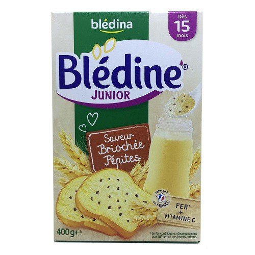 Bột pha sữa Bledine 15M+ vị bánh mỳ - bột lắc sữa Bledina (mẫu mới, date 2020)