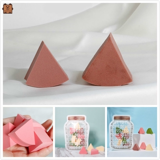 Cod In Stock New 12 Pieces of Women's 3D Triangle Beauty Sponge Puff Wet and Dry Makeup Puff Tool Cute Gift