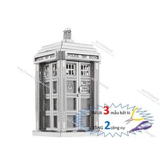 Mô Hình Lắp Ráp 3d Hộp Điện Thoại Nước Anh TARDIS (Doctor Who)