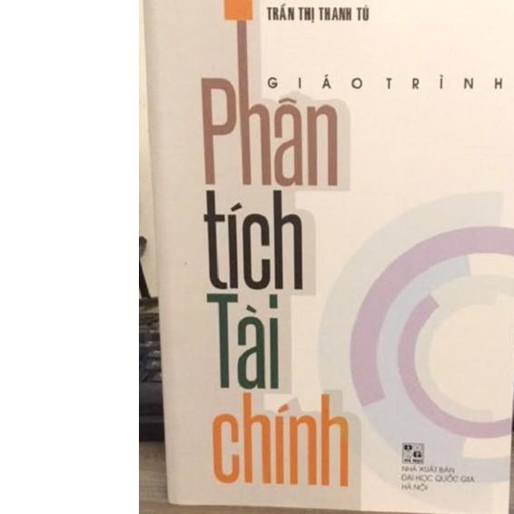 [ Sách ] Giáo Trình Phân Tích Tài Chính ( Trần Thị Thanh Tú )