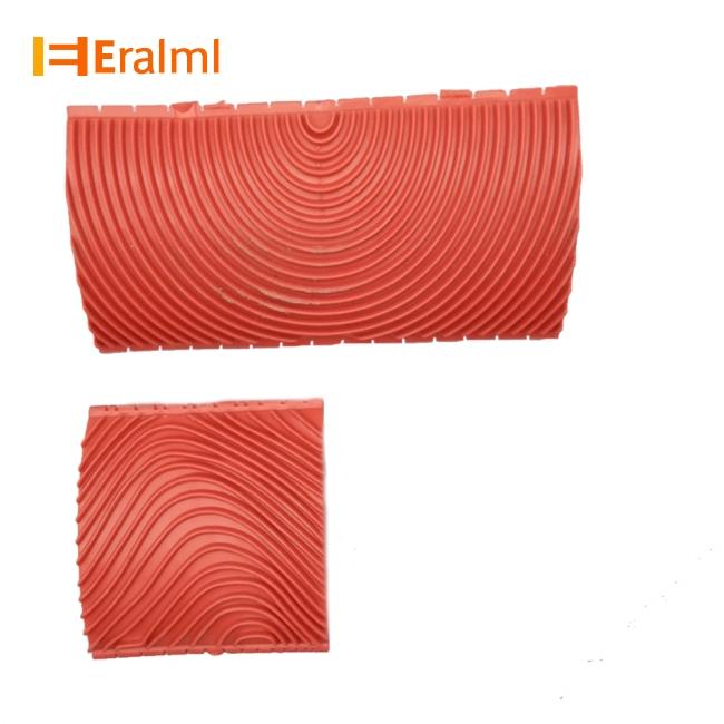 2PCS 3 Inch 6 Inch Imitation Wood Grain Paint Roller Brush