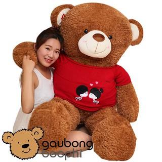 Gấu bông teddy áo len kiss hàng nhập cao cấp
