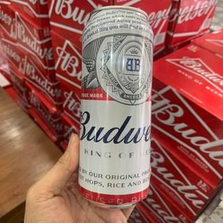 Bia Budweiser Lon 500ml – Thùng 12 Lon