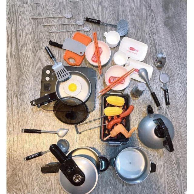{Sẵn Hàng} Bộ đồ chơi nấu ăn Home Kitchen 36 món cho bé gái
