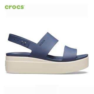 [Mã SUPE200K giảm 200K đơn từ 1tr2] Giày Nữ Crocs - Brooklyn Low Wedge 206453-46K thumbnail