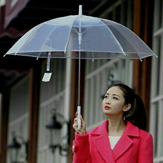 Combo 5c ô (dù đi mưa) trong suốt