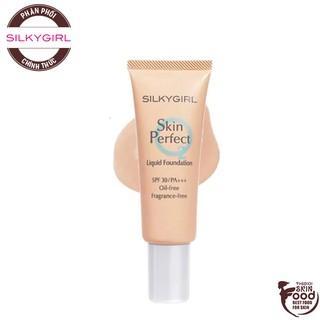 Kem Nền Dạng Tuýp Che Phủ Tự Nhiên Silkygirl Skin Perfect Liquid Foundation SPF30 PA+++ 25ml thumbnail