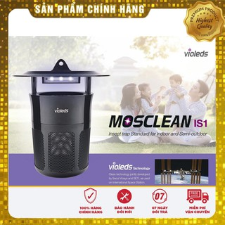 [Hàng chuẩn] 🇰🇷 Máy bắt muỗi thông minh hiệu quả LED UV Mosclean Hàn Quốc