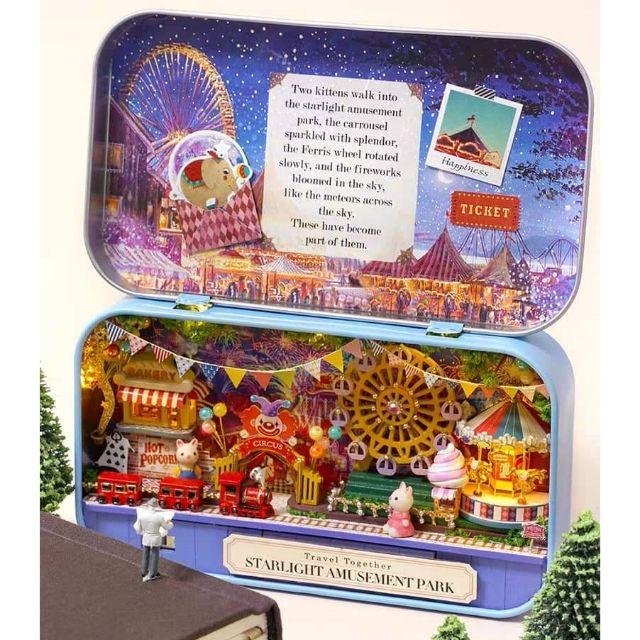 Mô hình nhà gỗ búp bê Dollhouse DIY – Q011 Amusement Park