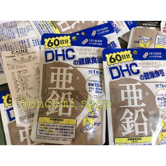 Viên bổ sung Kẽm DHC