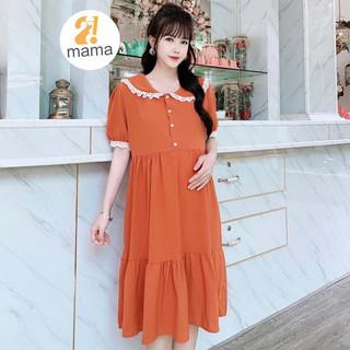 Váy bầu thiết kế 2MAMA thiết kế đuôi cá dáng dài V78 thumbnail