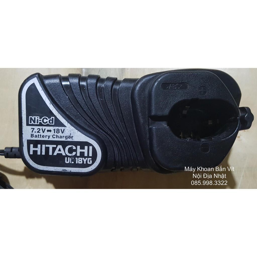 Sạc Zin Pin Niken Hitachi 7.2V - 18V Sử Dụng Điện 110VAC