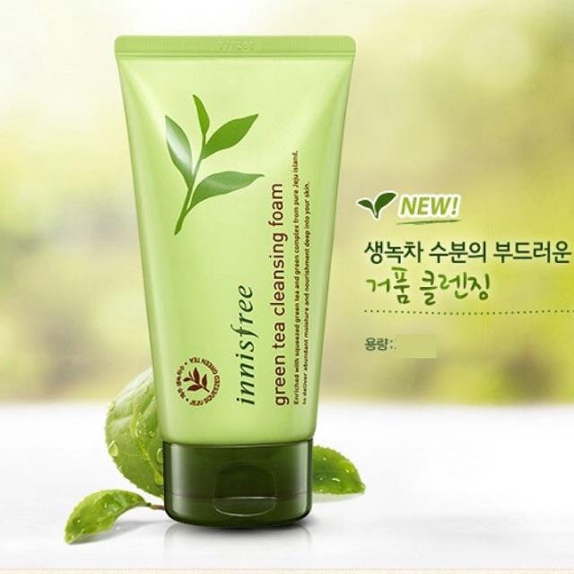 Sữa rửa mặt Innisfree Trà xanh Hàn Quốc