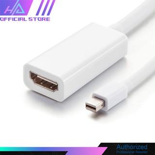 [Mã ELORDER5 giảm 10k đơn 20k] Cáp Mini Display Port DP To HDMI tốc độ cao