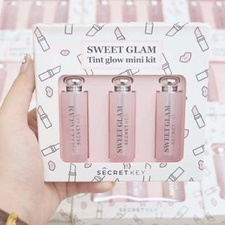 Set son dưỡng có màu Secret Key Sweet Glam Tint Glow mini kit thumbnail