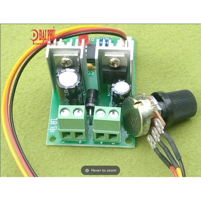 Mạch điều chỉnh tốc độ động cơ 10A có ra dây
