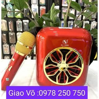 Loa hát karaoke A20.tặng kèm mic hát karaoke không dây.