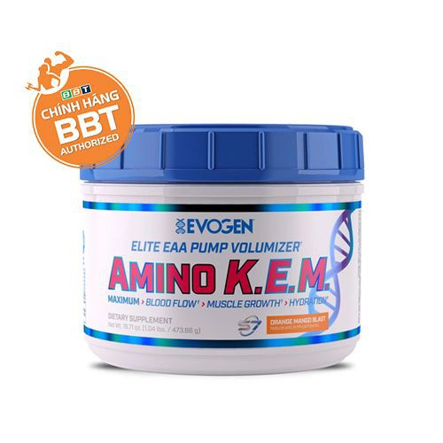 AMINO K.E.M Nguồn Năng lượng tập luyện cao cấp nhất