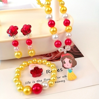 Kids Jewelry Set Girl Fashion Cartoon Necklace Fashion Accessories Birthday Gift for Girls thumbnail
