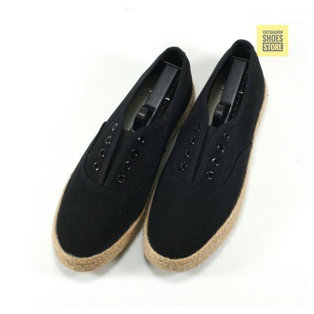 Slip on | giày lười vải nam đế bo đay kiểu giày dây - Mã SP: 7252-đen - 3021476 , 136679022 , 322_136679022 , 225000 , Slip-on-giay-luoi-vai-nam-de-bo-day-kieu-giay-day-Ma-SP-7252-den-322_136679022 , shopee.vn , Slip on | giày lười vải nam đế bo đay kiểu giày dây - Mã SP: 7252-đen