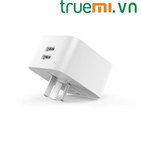 [TrueMi.vn]- Ổ cắm điện thông minh 2 cổng USB Xiaomi kết nối wifi-Giá tốt nhất!