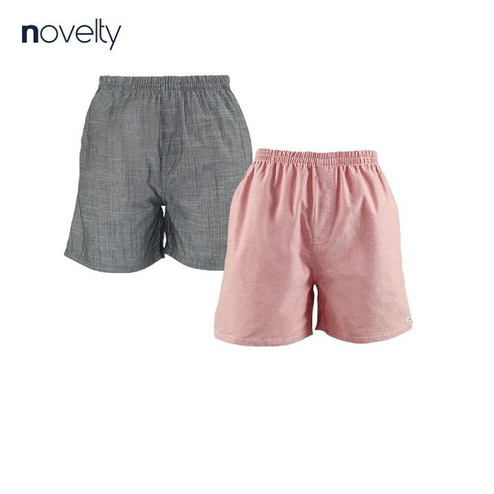 Combo 2 quần đùi nam Novelty màu bất kì