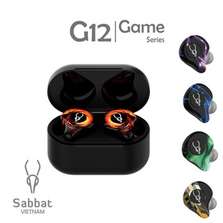 Tai nghe bluetooth Gaming Sabbat G12 chuyên Game độ trễ cực thấp 40ms