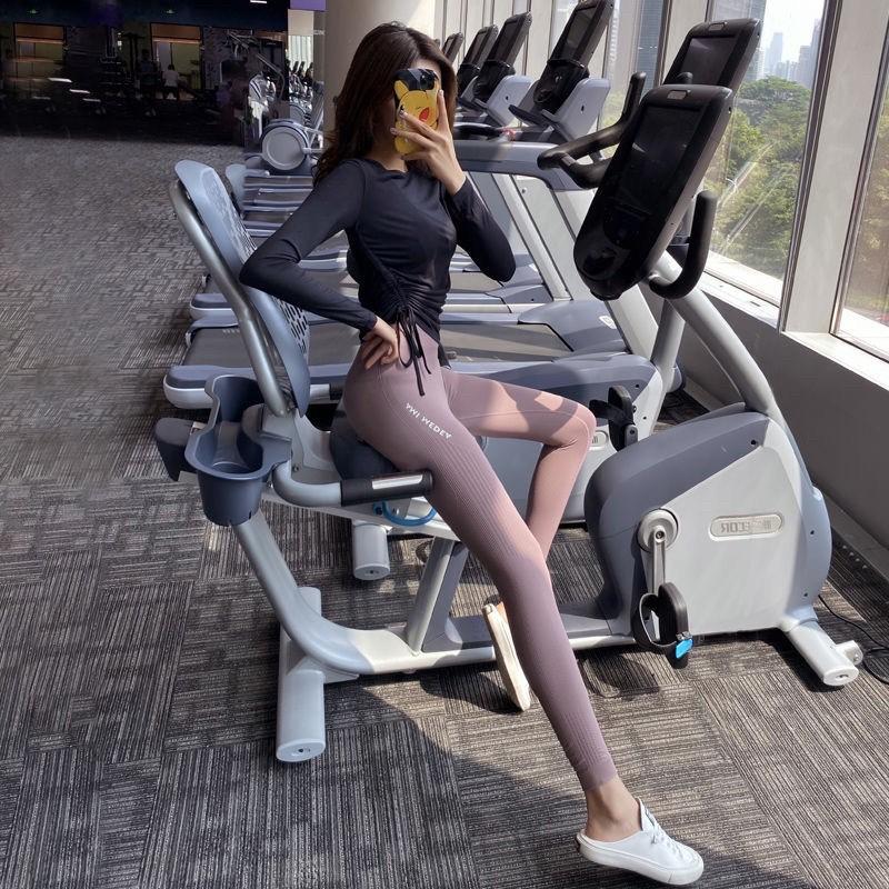 Mặc gì đẹp: Thoáng mát với  Quần dài nữ tập gym, yoga Ami Medea