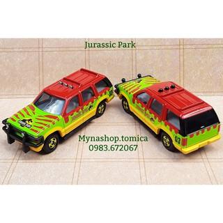 Xe mô hình tomica – Jurassic Park (Kỷ Jura) (phiên bản đặc biệt)