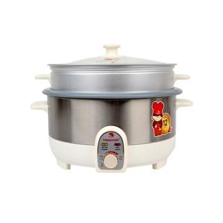 Nồi Lẩu Điện Có Xửng Happy Cook HCHP-350ST hàng thanh lý công ty
