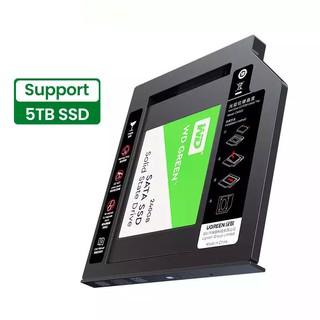 Khay đựng ổ cứng 2.5 cho Laptop có ổ CD mỏng 9.5mm UGREEN 70657 cao cấp thumbnail