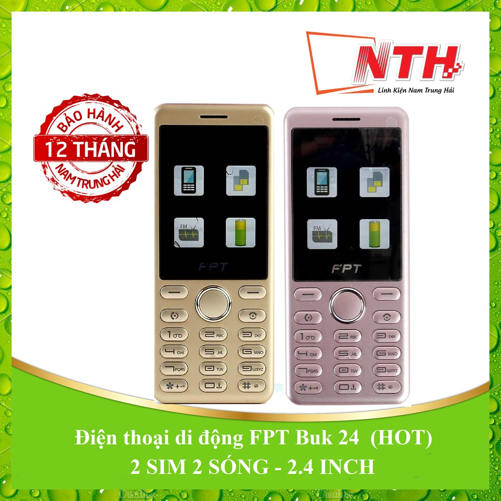 [BẢO HÀNH 12 THÁNG] Điện thoại FPT Buk 24 (HOT) mh 2.4in - 2604988 , 186345517 , 322_186345517 , 353000 , BAO-HANH-12-THANG-Dien-thoai-FPT-Buk-24-HOT-mh-2.4in-322_186345517 , shopee.vn , [BẢO HÀNH 12 THÁNG] Điện thoại FPT Buk 24 (HOT) mh 2.4in