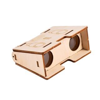 Bộ đồ chơi tự làm kính viễn vọng khúc xạ (ống nhòm) bằng gỗ – DIY Wood Steam