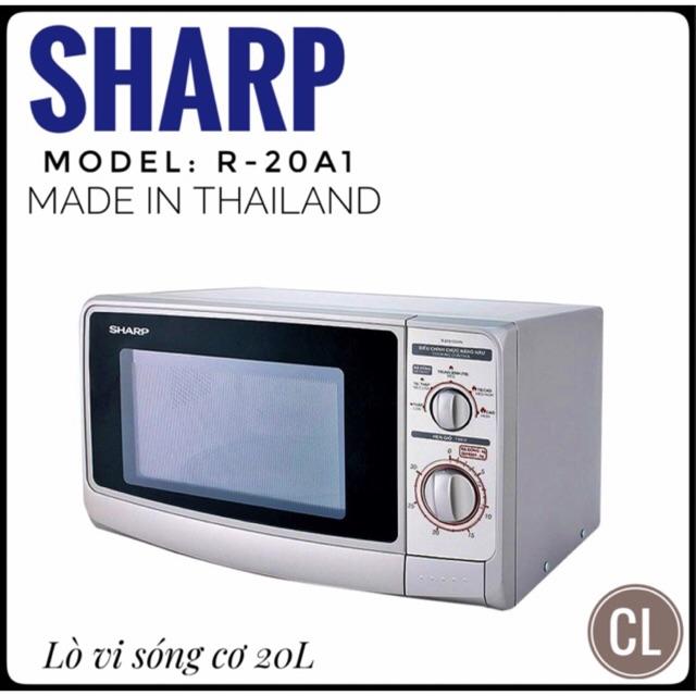 Lò vi sóng cơ Sharp R-20A1(S)VN 22L