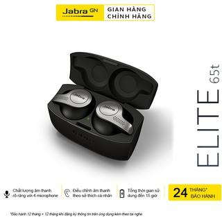 Tai Nghe Bluetooth True Wireless JABRA Elite 65T Thương hiệu Đan Mạch - Hàng Chính Hãng