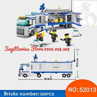 Lego Lắp Ráp Xe Tải POLICE Wange 52013 ( 395 Mảnh )